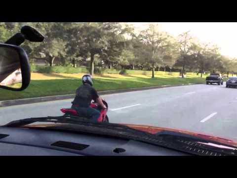 08 cbr 1000 wheelie thru traffic wot