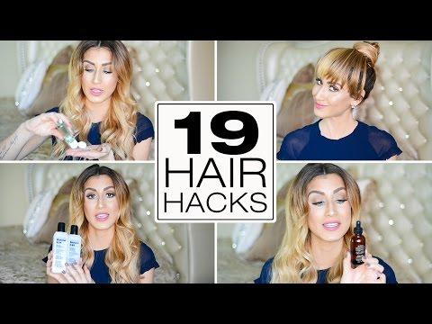 19 Stupidly Simple Hair Hacks For Dirty / Oily Hair!