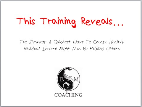 The Simplest And Quickest Ways To Create Healthy Residual Income Right Now By Helping Others