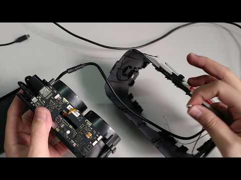 Pimax VR 4K Teardown - what inside Virtual reality glass