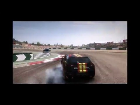 Playing with Keyboard, DownShifting Brake and Turn in LIKE A BOSS !! INSANE GRID 2 PLAYER  !!