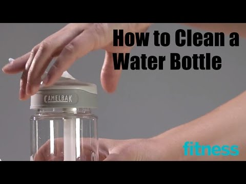 How to Clean a Water Bottle | Fitness