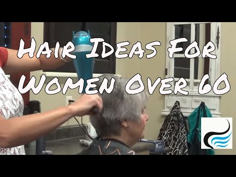(Older Women Hair Ideas) with Stacked Back Hairstyles - Haircuts Over 60