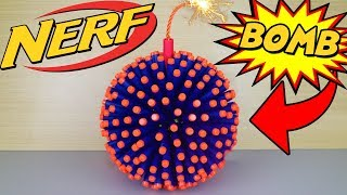 EPIC NERF BOMB (*HUGE EXPLOSION*)