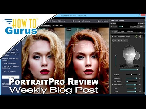 Blog Review of PortaitPro a Fantastic Portrait Photo Editing and Retouching Program