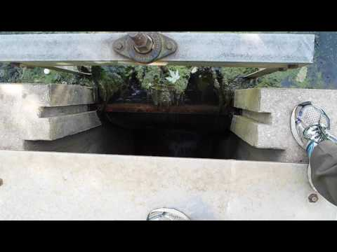 How to: Sluice Gate Controls Water Level and Flow Rate at Williamsport C & O Canal Project