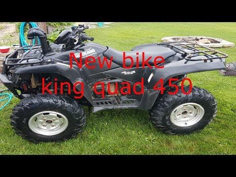 2007 Suzuki King quad 450 walk around