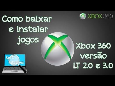 Como baixar e installar jogos de Xbox 360 LT 2.0 e 3.0