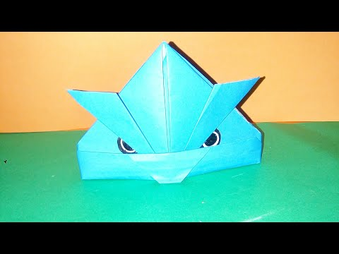 how to make angry bird easily  with paper