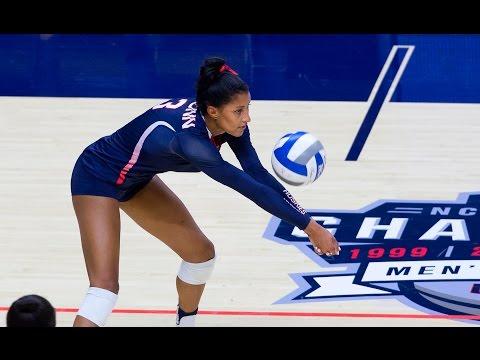 UConn Volleyball vs.  SMU Highlights