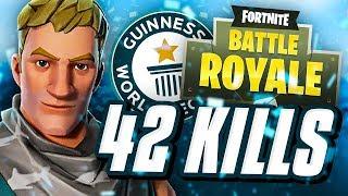 Fortnite World Record 42 Kill Trio Squads Getplaypk The