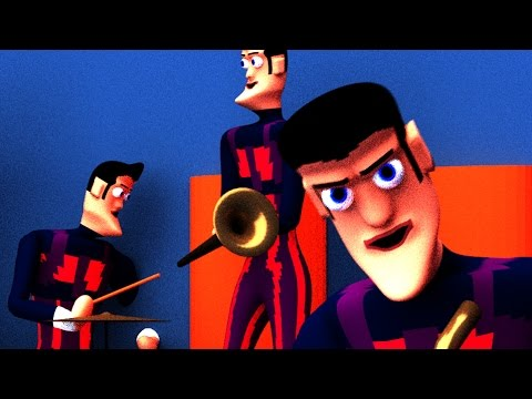 We Are Number One but it's poorly recreated with 3D CGI