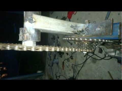 spit rotisserie build - 2nd cog mounted