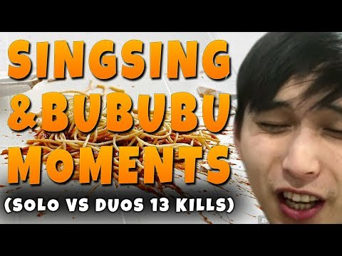 SingSing & BuBuBu Moments (PEOPLE ARE SO KIND IN FORTNITE)