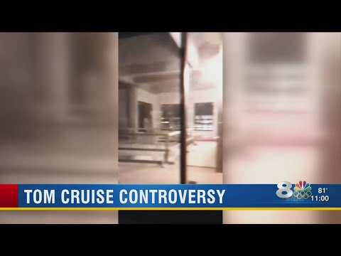 Clearwater man streams from inside Tom Cruise's penthouse, Church of Scientology not happy