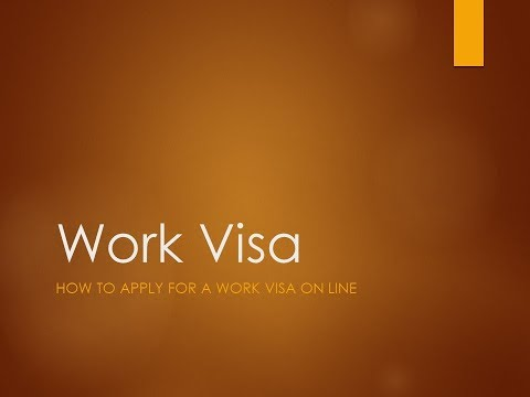 How To Apply For A South African Work Visa For The First Time