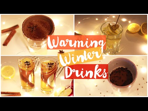 Healthy & Warming Winter Drinks!