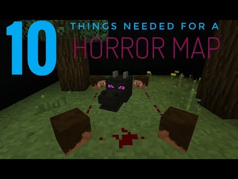 How to Make Horror Maps in Minecraft Pocket Edition SCARIER!!!
