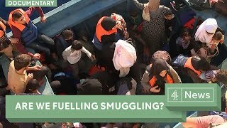 Migration crisis: Are we fueling people smuggling?