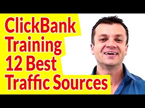 Clickbank Affiliate Marketing Training 2017-How To Earn $277 Per Day With 12 Best Traffic Sources
