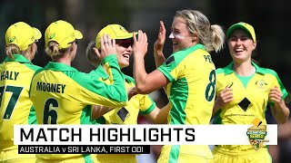Australia romp to 16th consecutive ODI win | First CommBank ODI