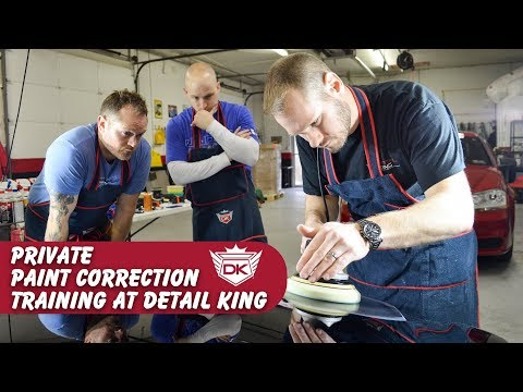 April 25th Private Paint Correction Training