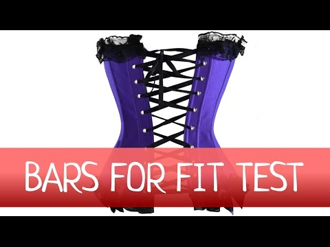 How EASY make FIT TEST for corset? How to make a corset?