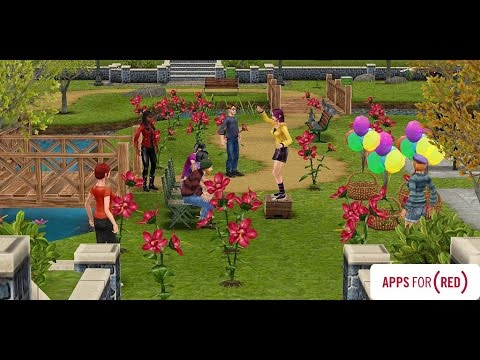 (RED)™ Flower Blooms | The Sims FreePLAY™