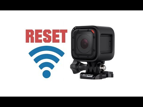 Rest Wifi Password on GoPro Hero Session 4