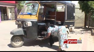 Womens Day: Physically Handicapped Driving Auto with Hand Controls