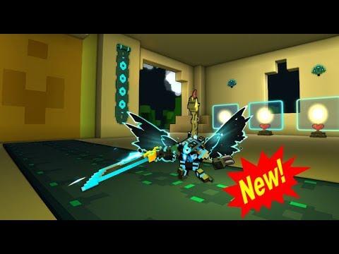 Trove New Neon Ninja Outfit! Digital Daemon ( Looks Dope Bro!)
