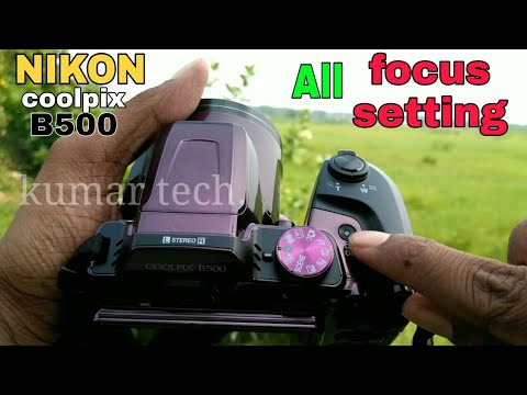 NIKON COOLPIX B500#Manual Focus setting full review#kumar tech.mp4