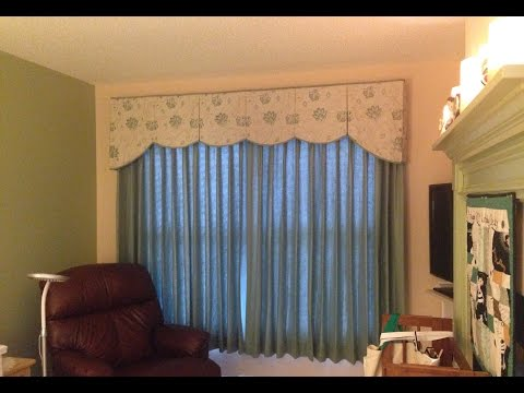 Step 7 Adding Trim And Pleating Your Scalloped Valance