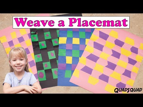 Learn to Weave a Placemat - Craft Time with Ashley