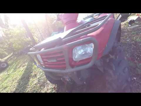 Hooking up an ATV plow kawasaki prairie 650