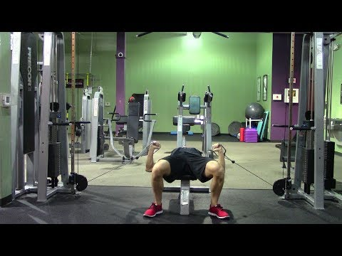 Crushing Chest Workout in the Gym - HASfit Chest Workouts for Men & Women - Pectoral Exercises