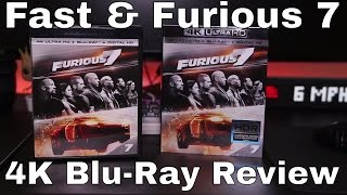 Fast & Furious 7 4K UHD Blu-Ray Review