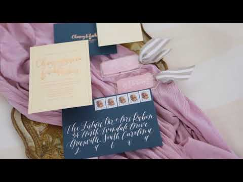 Zach and Chancey's Beautiful Wyche Pavilion Wedding // Greenville, SC Snippet 2