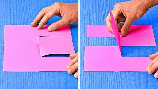 Cool Paper Tricks You Should Try At Home    Lovely Paper DIYs And Crafts