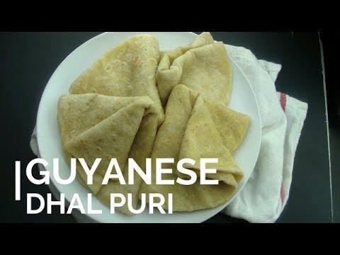 GUYANESE DHAL PURI: Step by Step
