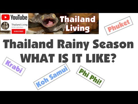 What is RAINY SEASON Like in Krabi? Phuket? Samui? 🇹🇭 Thailand Living