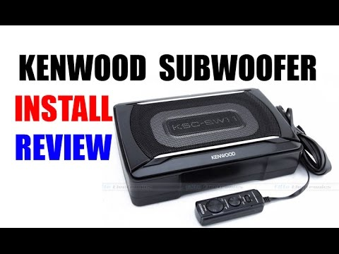 DIY Kenwood Powered Subwoofer Install