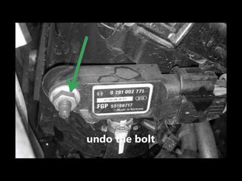 How to replace DPF differential sensor - Astra, Zafira - p1901, P2452, P242F 1.9 cdti