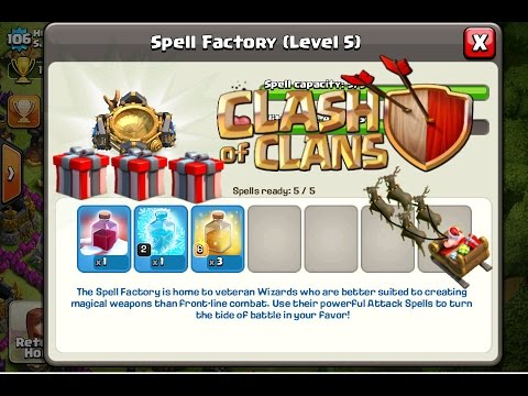 Clash of Clans - Epic Player With 2012 Santa Strike Spell (Must Watch)
