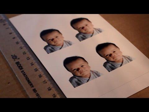 Baby J's First Passport/ID Photo (DIY) #jaydenhow