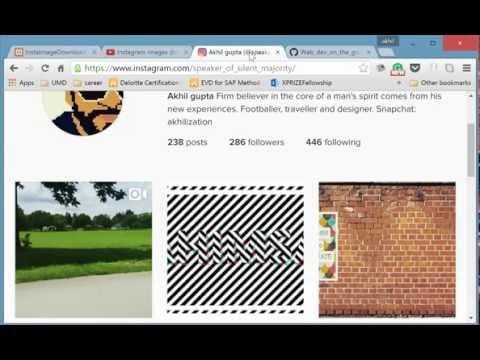 Instagram Picture Downloader