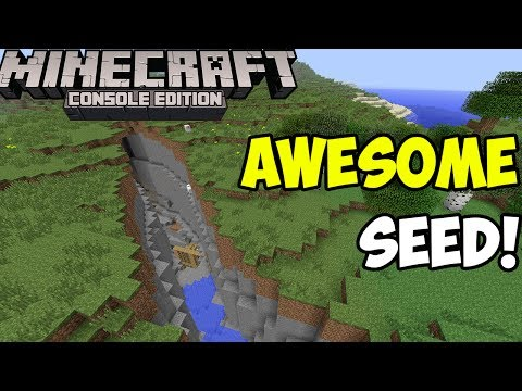 Minecraft Xbox & PS3: Stronghold and End Portal at Spawn! | Seed Spotlight!