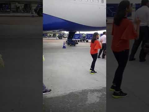 Airport || Delhi airport process after boarding pass complete in Indigo great view