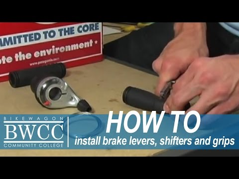 Installing Brake Levers, Shifters and Grips on your Bike - Bikewagon Community College