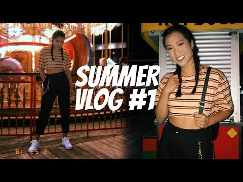 SUMMER VLOG #1   Back to a Healthy Routine!